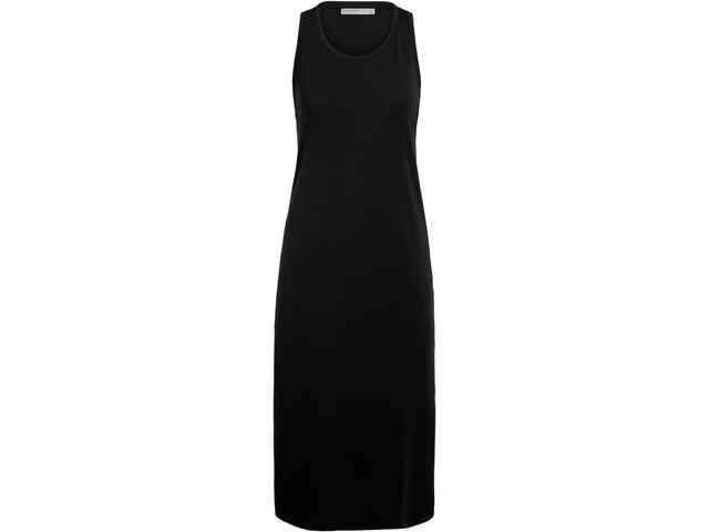 Icebreaker Yanni Midi Dress Women black